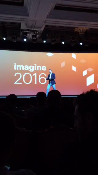 JoshuaSWarren: LIVE on #Periscope: #MagentoImagine keynote  https://t.co/ZG9WEsBwFa