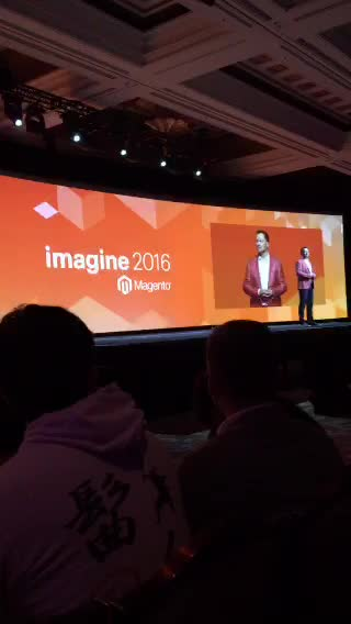 JoshuaSWarren: LIVE on #Periscope: #MagentoImagine - it's about to get real... https://t.co/4Gue6HEux4